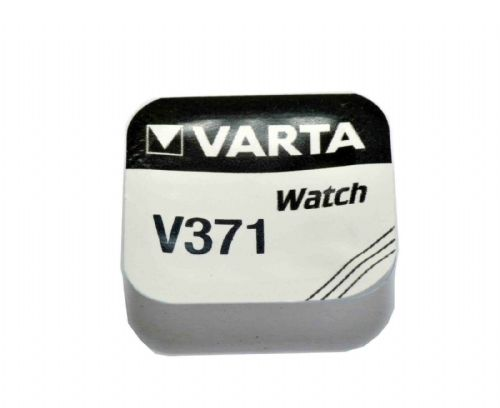 Varta V371  SR920W D371 Silver Oxide Watch Battery 1.55v [1-Pack]
